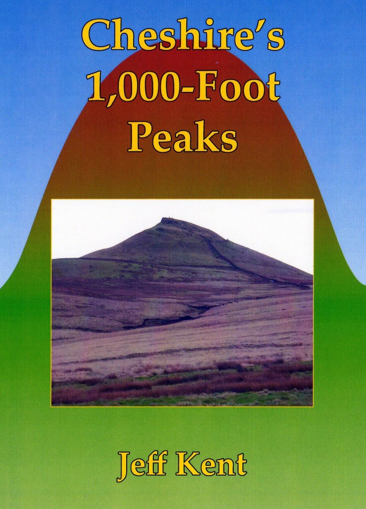 Cheshire's 1,000-Foot Peaks Front Cover