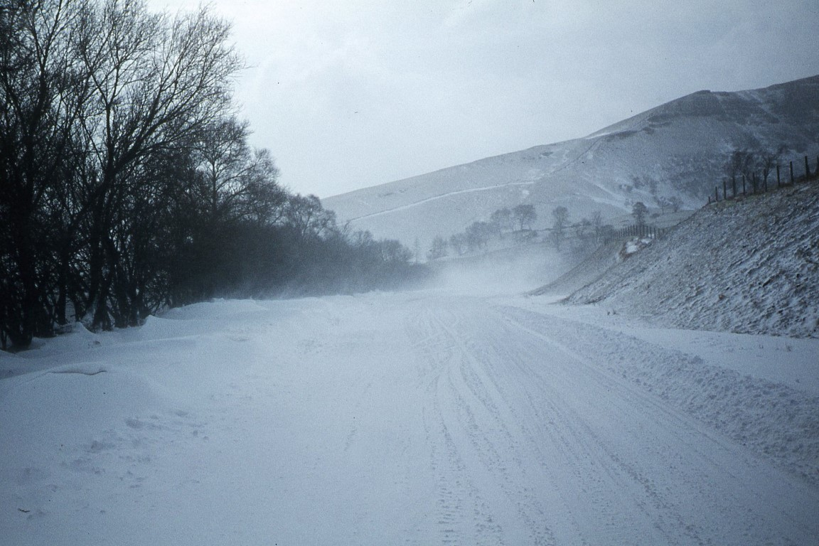 The A470 between Brecon and Merthyr. This view looks south towards the Storey Arms from aboveLlwyn Celyn Youth Hostel