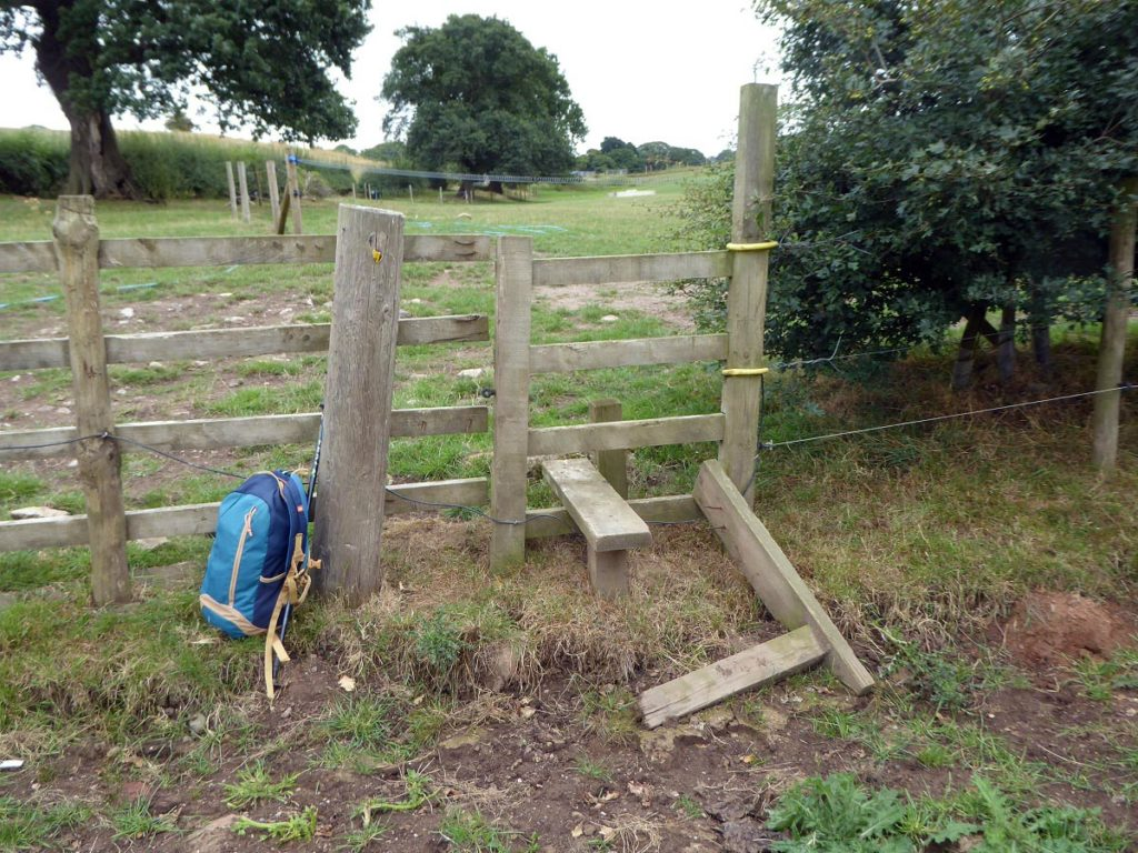 This has now been replaced by a kissing gate.