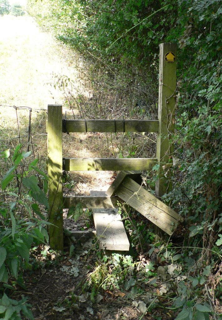 Our footpaths inspector reported this problem and it was dealt with promptly by Cheshire East Council.